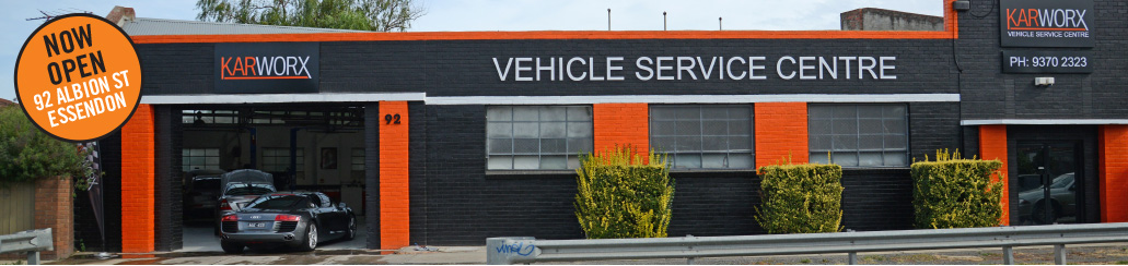 Karworx new car repairs shop in Essendon